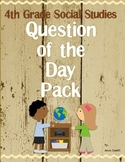 4th Grade Social Studies Question of the Day Pack