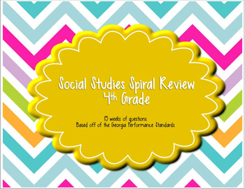 4th Grade Social Studies Spiral Review
