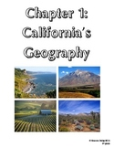 4th Grade Social Studies Study Guide California Geography