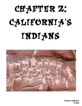 4th Grade Social Studies Study Guide California Native Americans