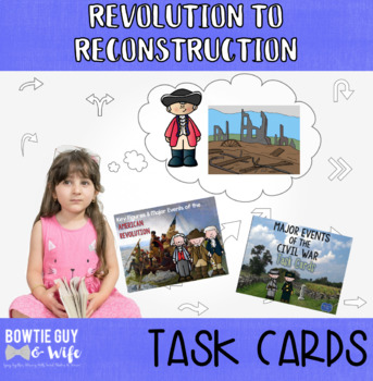 Social Studies Task Cards Native Americans to Pre Civil War