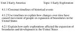 4th Grade Social Studies Unit 2 Early Exploration Topic 1