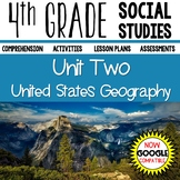 4th Grade Social Studies United States Geography Distance