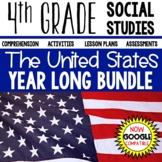 4th Grade Social Studies United States YEAR LONG BUNDLE Di