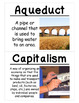 4th Grade Social Studies Vocabulary Cards: Making the Empire State (Large)