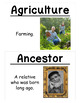 4th Grade Social Studies Vocabulary Cards: New York's First People (Large)