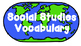 4th Grade Social Studies Vocabulary words for Pocket Chart