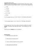 4th Grade Social Studies Weekly Comprehension Questions Week #22
