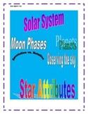 4th Grade Solar System Test