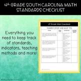 4th Grade South Carolina Math Standards Checklist