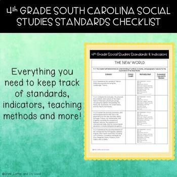 4th Grade South Carolina Social Studies Standards Checklist