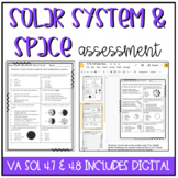 4th Grade Space & Solar System Assessment