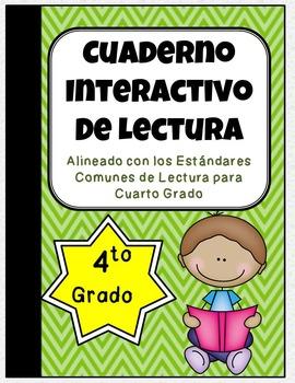 4th Grade Spanish Interactive Reading Notebook {Common Core Aligned}