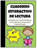 4th Grade Spanish Interactive Reading Notebook {Common Cor