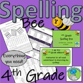 4th Grade Spelling Bee - All you need - over 178 pages of resources!