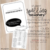 4th Grade Spelling Dictionary Aligned with F&P