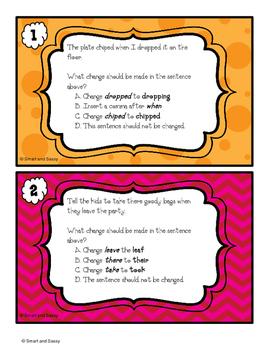 4th Grade Spelling Task Cards TEKS/ STAAR Aligned QR Codes