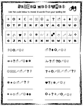 4th Grade Spelling and Vocab Activities for Full Year (Printable only)