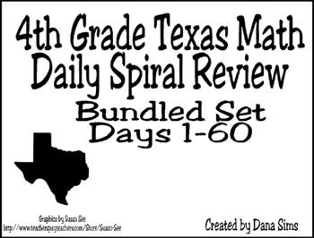 4th Grade Spiral Review BUNDLE