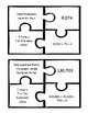 4th Grade Standard, Expanded & Word Form Puzzles with Place Value 4.NBT.A.2