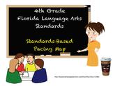 4th Grade Standards Based Curriculum Map - Language Arts Florida Standards