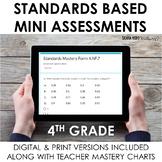 4th Grade Math Google Forms Assessments Digital Quick Chec