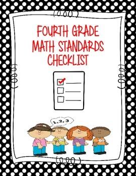 4th Grade Standards Checklist