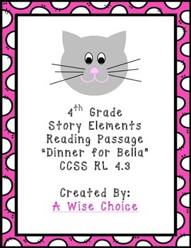4th Grade Story Elements Passage