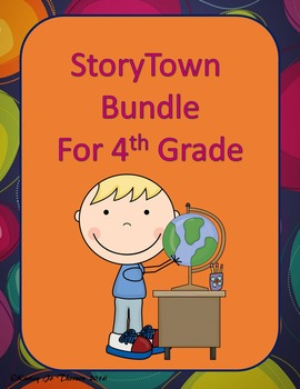 4th Grade StoryTown Bundle