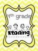 4th Grade Student Common Core Notebook