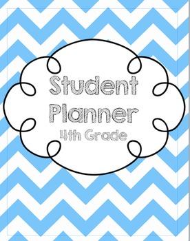 4th Grade Student Planner/Agenda
