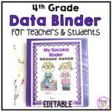 4th Grade Data Binder-Common Core Aligned