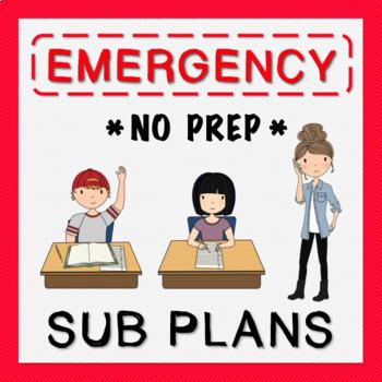 4th Grade Sub Plans