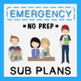 4th Grade Emergency Sub Plans