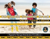 4th Grade Summer Break Review Packet Flipbook