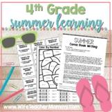 4th Grade Summer Review Packet, Math & ELA At Home Learning