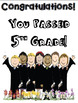 """5th Grade """"End of the Year"""" Language Arts and Math Take Home Packet"""