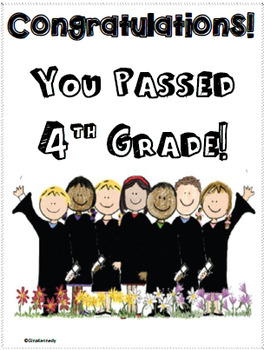 """4th Grade """"End of the Year"""" Language Arts and Math Take Home Packet"""