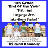 "4th Grade ""End of the Year"" Language Arts and Math Take Ho"