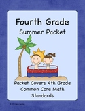4th Grade Summer Math Workbook- Common Core Aligned- Top S