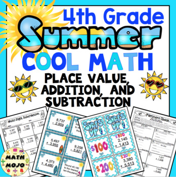 4th Grade Summer Cool Math: 4th Grade Addition ...