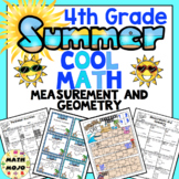 4th Grade Summer School Math: 4th Grade Measurement and Geometry