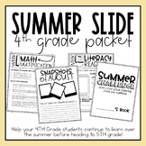 4th Grade Summer Slide Packet