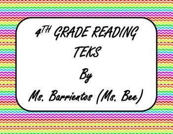 4th Grade TEKS