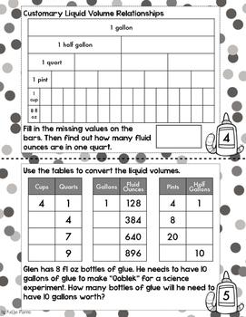 4th Grade TEKS Customary and Metric Measurement Interactive Journal