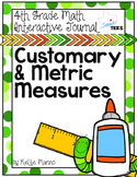 4th Grade TEKS Customary and Metric Measurement Interactiv