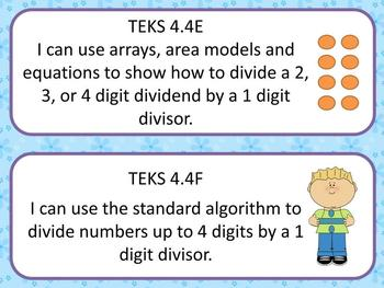 4th Grade TEKS I Can Statements: All Subjects Bundle