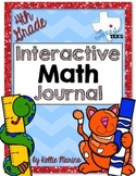 4th Grade TEKS Interactive Math Journal *BUNDLE*
