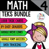 4th Grade Math TEKS Growing Bundle