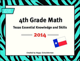 4th Grade TEKS Texas Essential Knowledge and Skills